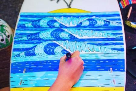 Boards & Art en La Paloma