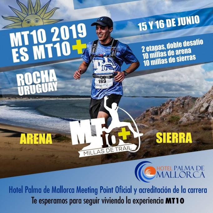 MT10, una carrera en etapas, desafiando sierras, terrenos de arena, bosques y cárcavas en Rocha