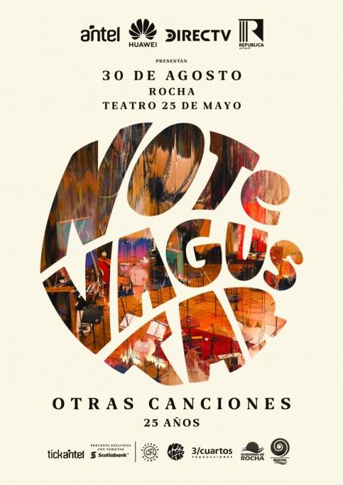 """No Te Va Gustar llega a Rocha en su gira nacional: """"Otras Canciones - 25 años"""""""