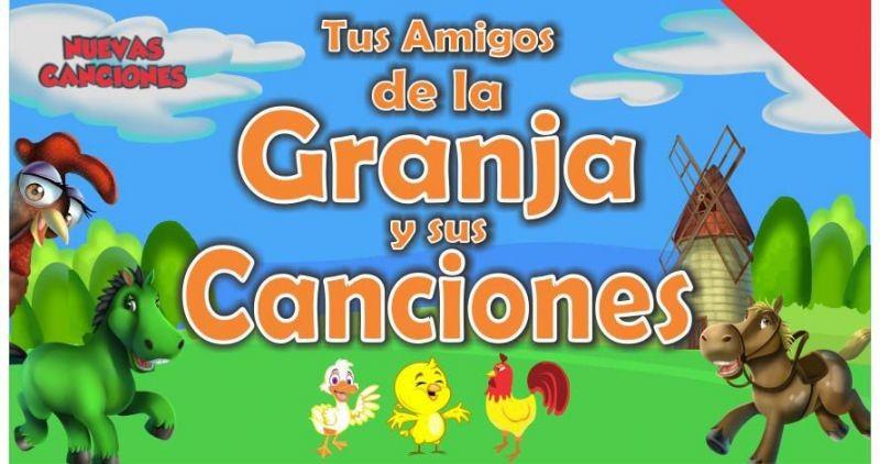 """Musical infantil """"Tus amigos de la granja y sus canciones"""" en el Teatro 25 de Mayo de Rocha"""