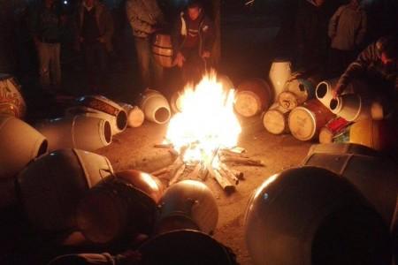 Talleres de candombe en La Paloma