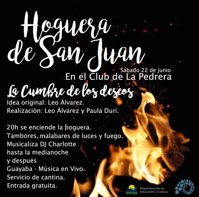 ¡Celebramos la llegada del invierno! Hogueras de San Juan en La Pedrera