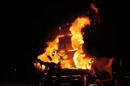 Hogueras de San Juan 2019 en La Pedrera
