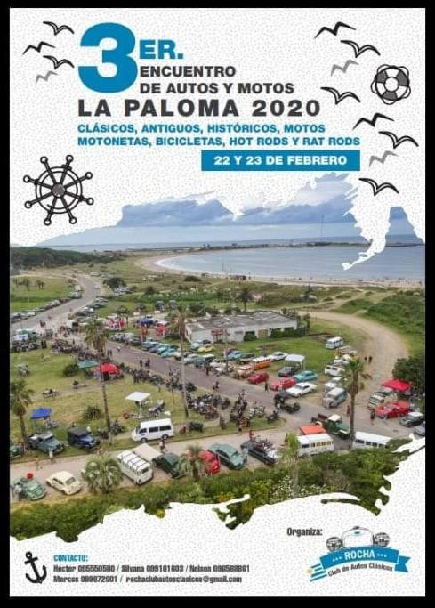 3er Encuentro de autos y motos clásicos en verano en La Paloma