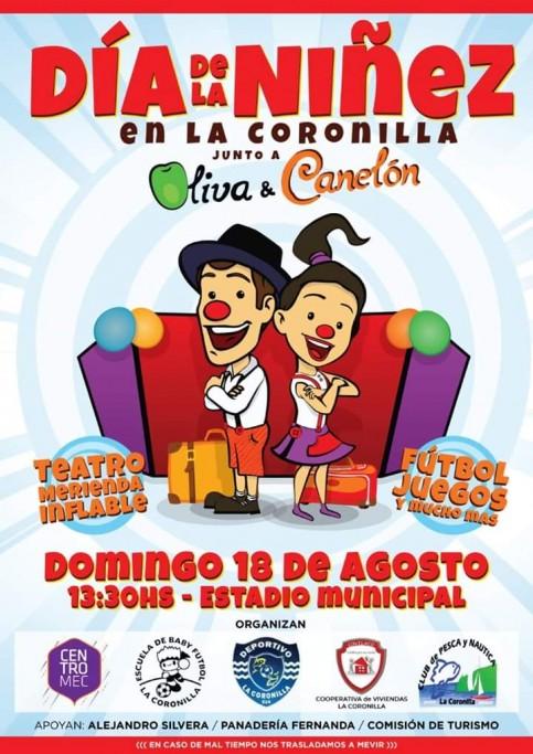 Día de la Niñez en La Coronilla: payasos, merienda, teatro, juegos y mucho más