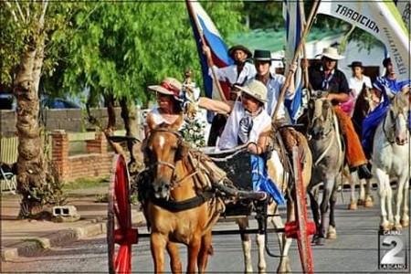 5ta Haciendo camino junto a la Escuela Rural en Lascano