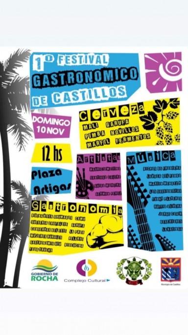 1er Festival Gastronómico de Castillos, con música en vivo y una exquisita propuesta culinaria