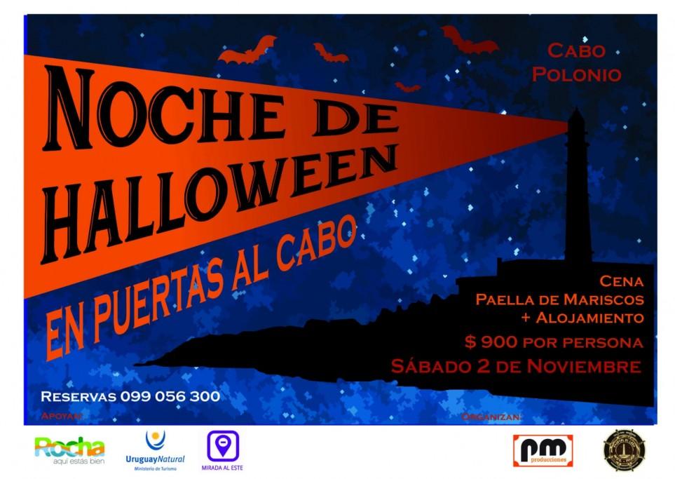 Cena de Halloween con alojamiento en Puertas al Cabo, para disfrutar del finde en Cabo Polonio