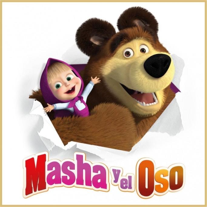 """""""Masha y el oso"""": musical infantil, lleno de canciones, colores y entretenimiento en Rocha"""