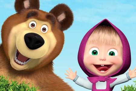 Masha y el oso en Rocha