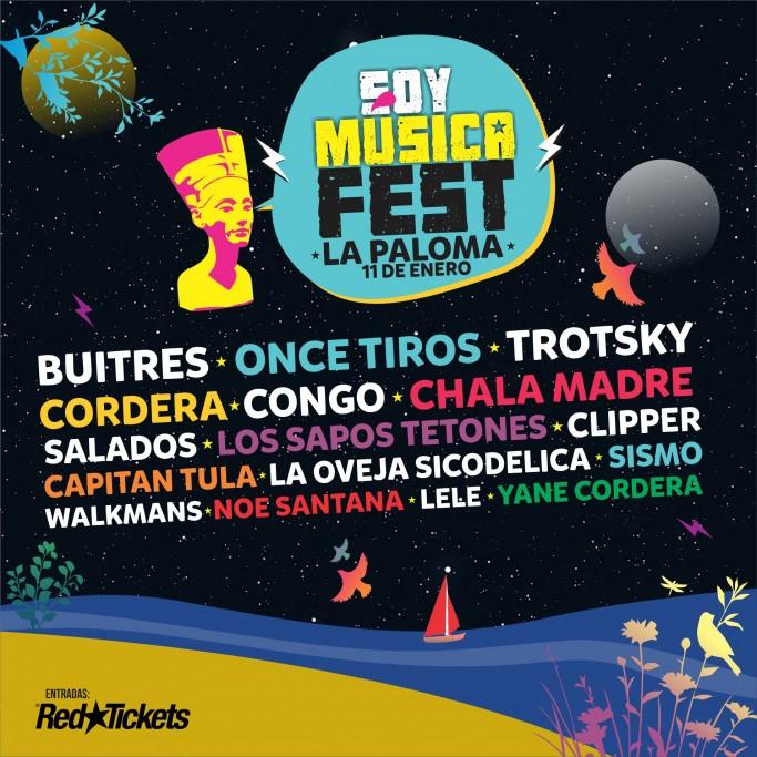 """Verano 2020: """"Soy Música Fest"""" en La Paloma, con una increíble grilla de artistas"""