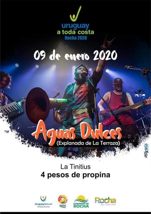 Verano 2020: Uruguay a Toda Costa presenta a 4 Pesos de Propina en Aguas Dulces