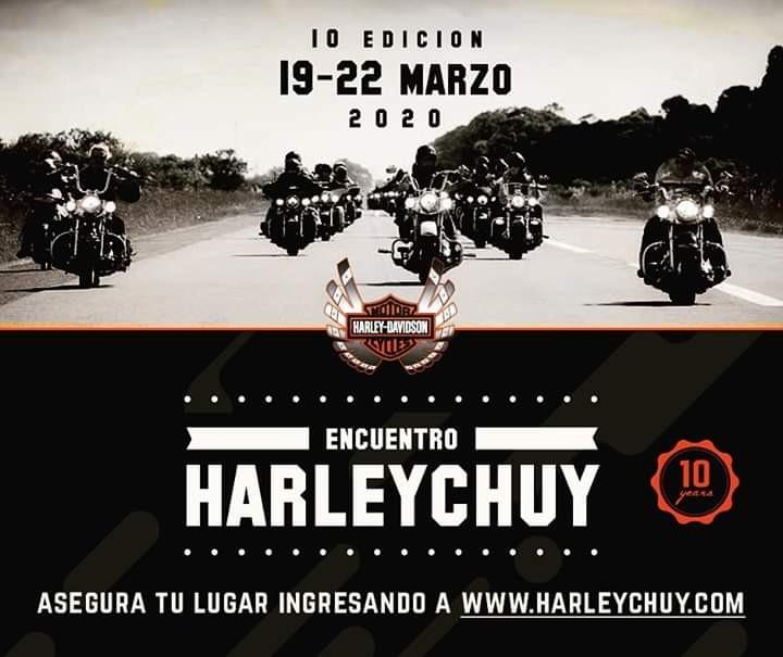 10° Encuentro Internacional Harley Davidson en la ciudad de Chuy