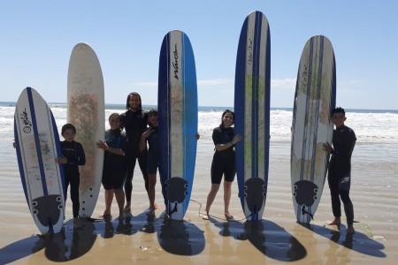 IV Campeonato de surf para niños en La Paloma