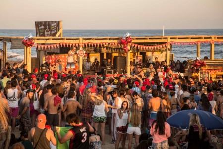 Havana Club Sunset en La Pedrera
