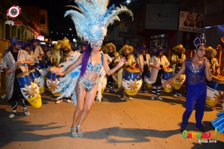 Desfile Inaugural de Carnaval 2020 en Rocha