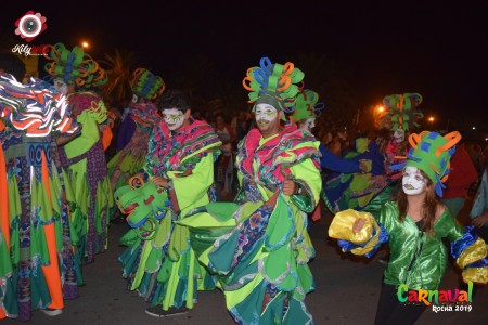 Desfile de Carnaval 2020 en La Paloma