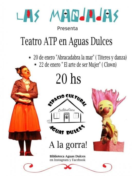 """""""Las Mandadas"""" presenta """"El arte de ser mujer"""" en el Espacio Cultural de Aguas Dulces"""