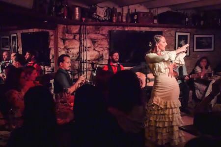 Show de flamenco  en La Paloma