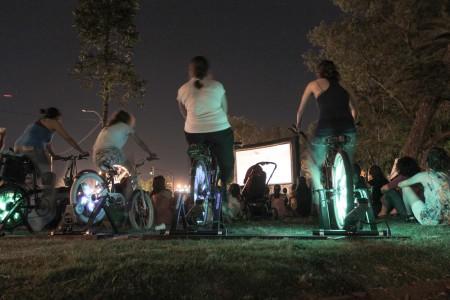 """Cine a pedal: 20 años de """"25 Watts"""" en Rocha"""