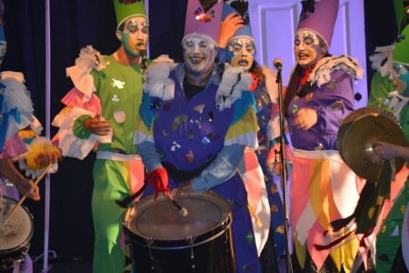 Tablado de Carnaval 2020 en La Pedrera