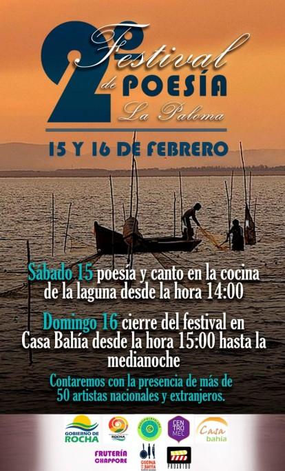 2° Festival de Poesía en la Laguna de Rocha y en La Paloma. 2 días de poesía y canto
