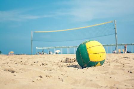 Campeonato de beach voley en Punta del Diablo