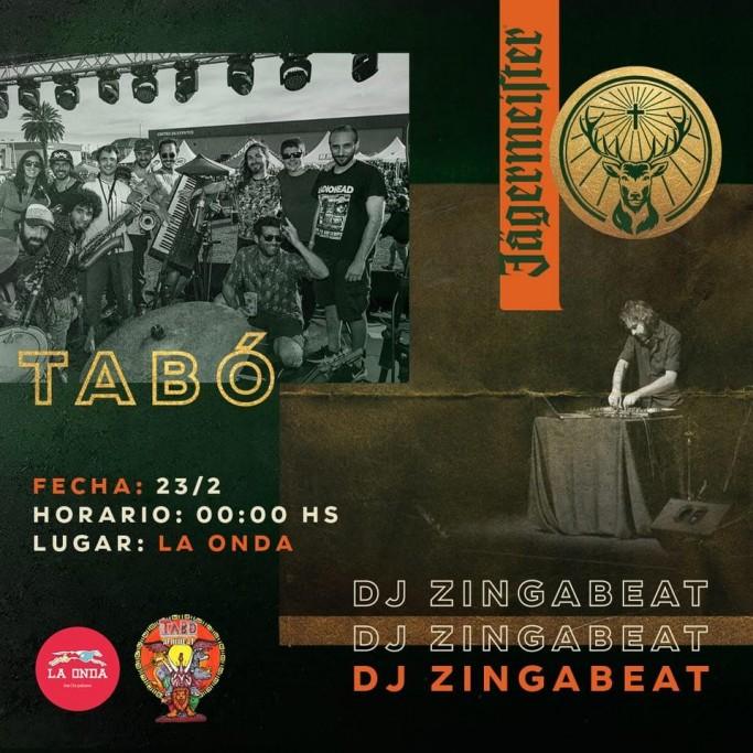 Jagermeister presenta a Tabó Afrobeat en vivo en Bar La Onda en La Paloma