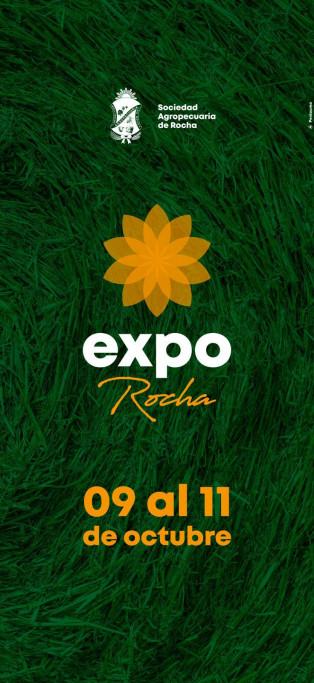 En octubre se realizará la Expo Rocha en la Sociedad Agropecuaria