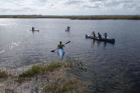 Travesía de canotaje en Puerto de los Botes