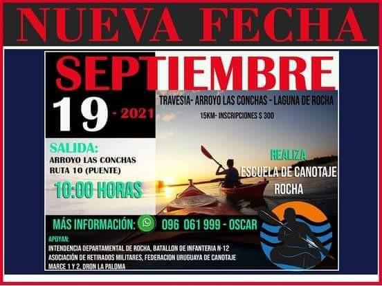 Travesía de canotaje: Arroyo Las Conchas - Laguna de Rocha. ¡15K de aventuras!