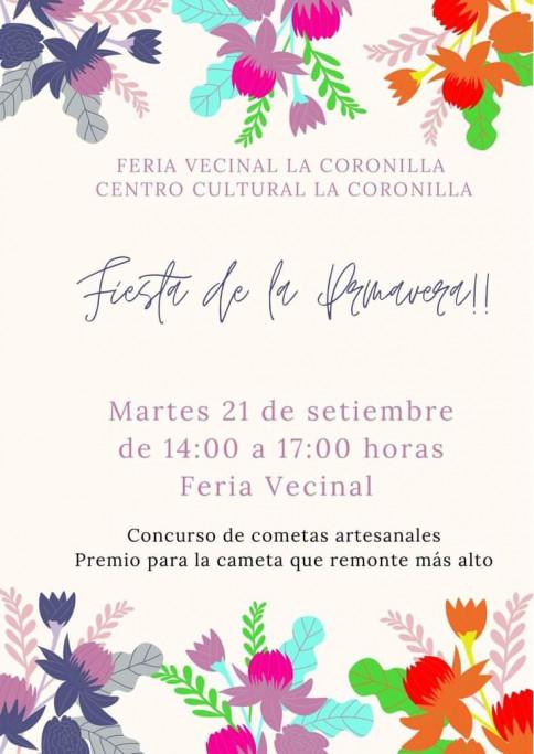 Fiesta de la Primavera 2021 en La Coronilla con concurso de cometas artesanales