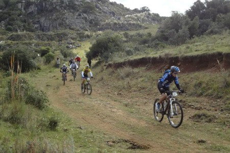 Travesía mountain bike al Cerro Áspero en Rocha