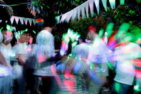 White Party, fiesta de fin de año en Barra de Valizas
