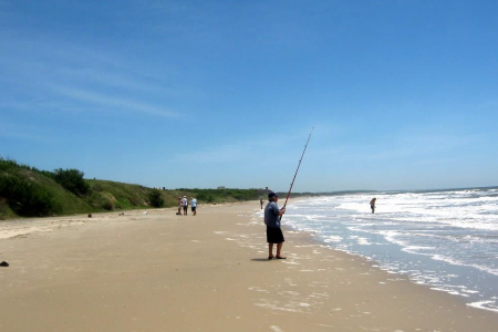 Concurso de pesca en La Coronilla