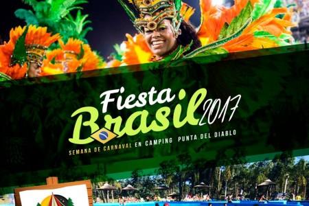 Fiesta de carnaval en Punta del Diablo