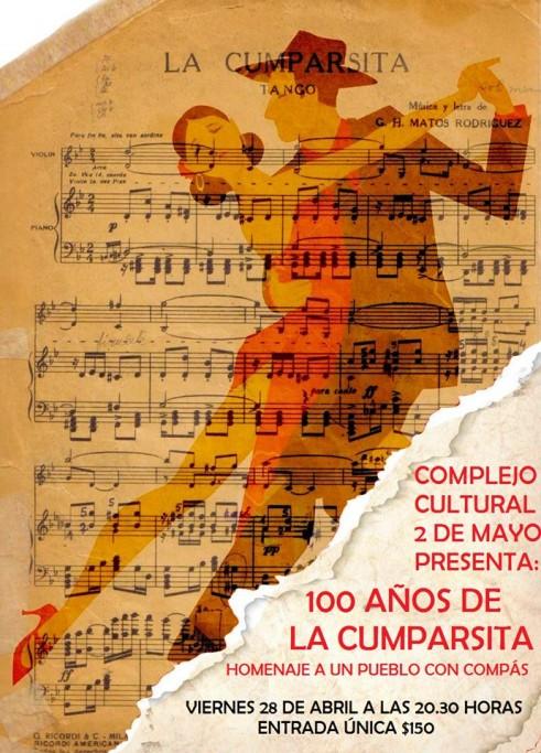 """100 años de """"La Cumparsita"""" en Castillos"""