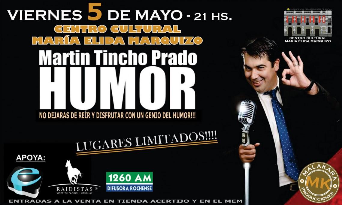 """Show de humor con Martín """"Tincho"""" Prado"""