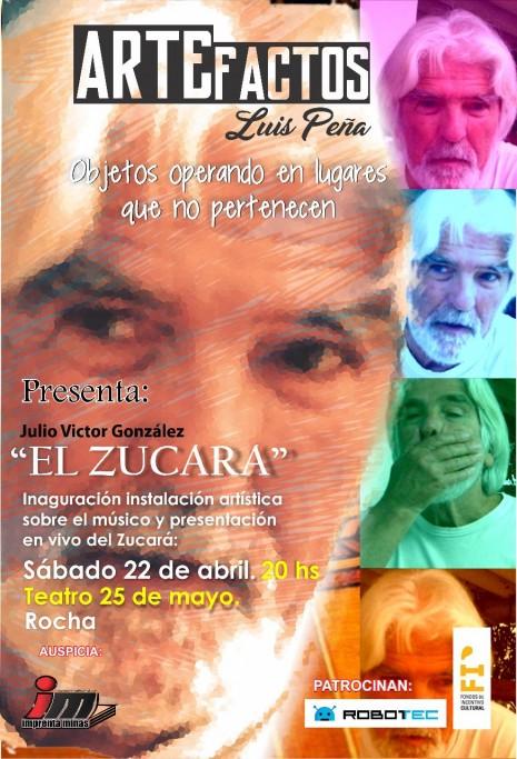 """Homenaje a Julio Victor González """"El Zucará"""" en Rocha"""