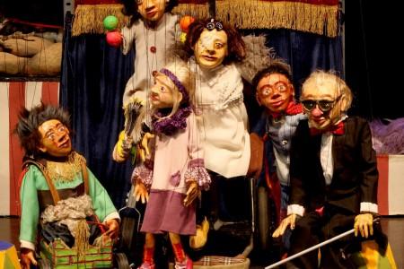 """ParaCirco"": un circo de marionetas y títeres en Rocha"