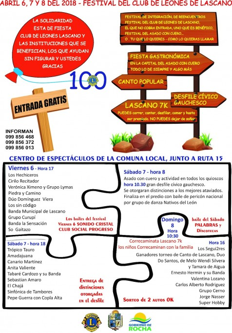 36° Festival del asado con cuero en Lascano