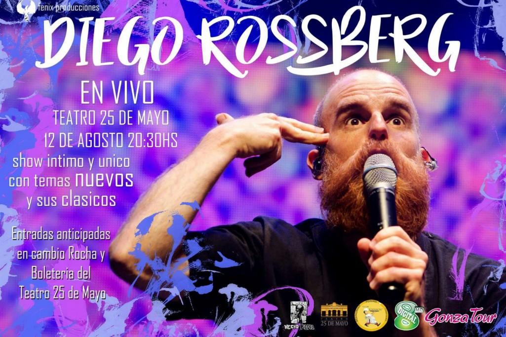 Recital íntimo de Diego Rossberg