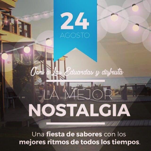Noche de la Nostalgia en Las Eduardas en La Paloma