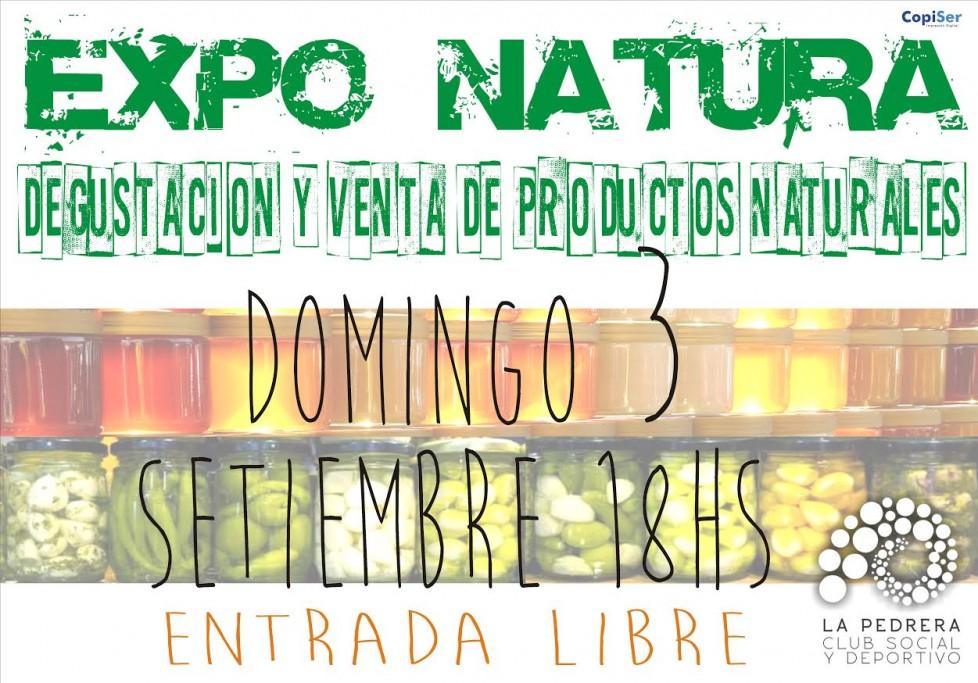 Expo Natura natura degustación y venta de productos naturales y orgánicos en la
