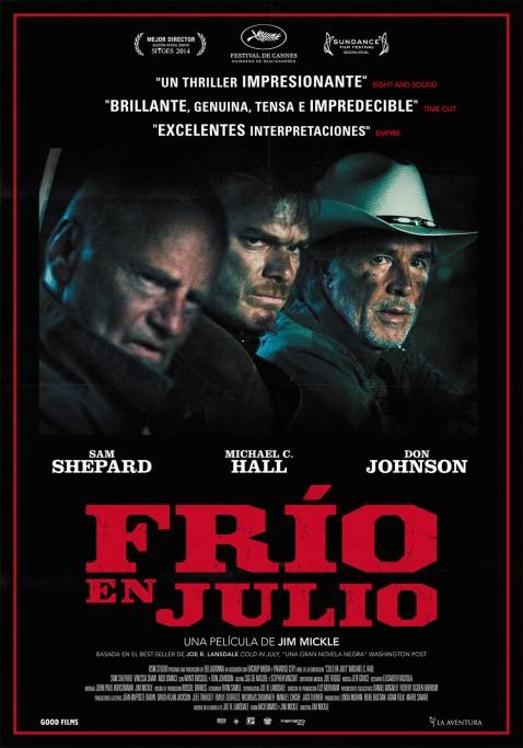 """Cine gratis en el Centro Cultural de La Paloma: """"Frío en julio"""""""