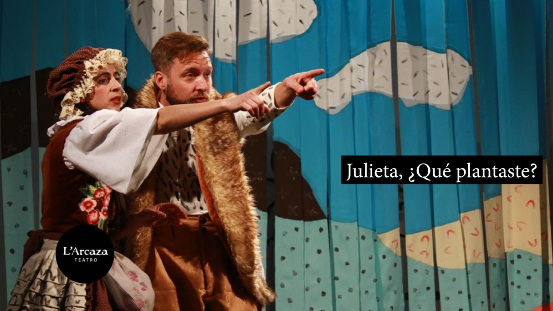 """Teatro para niños en Rocha: """"Julieta, ¿qué plantaste?"""""""