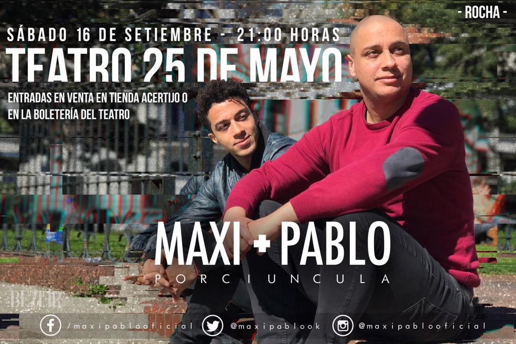 Maxi y Pablo Porciuncula en Rocha