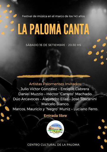 """""""La Paloma Canta"""" en el mes aniversario del balneario"""