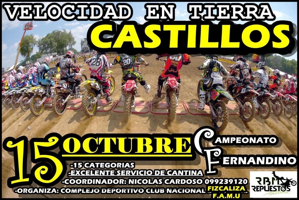 6ª Fecha Campeonato Fernandino - Velocidad en tierra en Castillos
