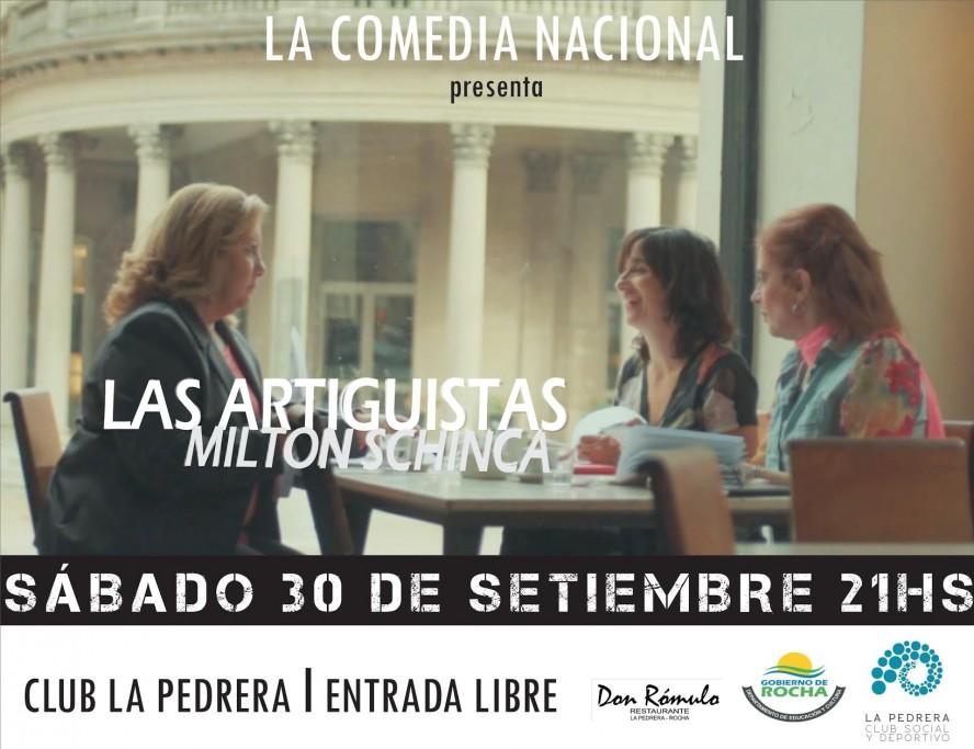 """La Comedia Nacional presenta """"Las Artiguistas"""" en La Pedrera"""
